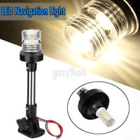 4500K 25cm Fold Down LED Anchor Light Navigation All Round Pole/Boat/Nav/Marine