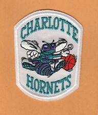 OLD FIRST LOGO CHARLOTTE HORNETS NBA 3 inch Jersey PATCH Unsold Stock IRON ON