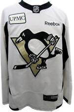 e38d7199858 Pittsburgh Penguins Size 58 Reebok Practice Worn Game Jersey UPMC130143