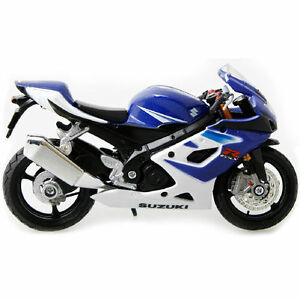 MAISTO Suzuki GSX-R1000 MOTORCYCLE BIKE 1:18 DIECAST MODEL TOY NEW IN BOX
