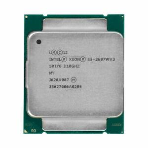 INTEL XEON E5-2687W V3 CPU PROCESSOR 10 CORE 3.10GHZ 25MB L3 CACHE 160W SR1Y6