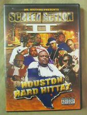 Mr. Bigtyme Presents Screen Action II Houston Hard Hittaz DVD FREE SHIPPING!!