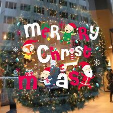 Christmas Alphabet Removable Home Vinyl Window Wall Sticker Decal Decor