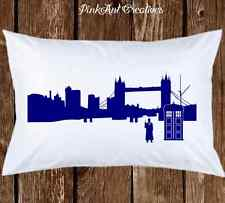 Doctor Who Pillowcases - Cute Tardis - Geeky Birthday GIft  - Time Lord