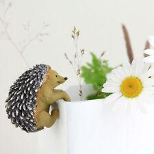 Hedgehog Flower Pot Hugger TO 4280 Miniature Fairy Garden
