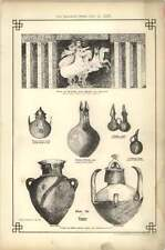 1878 Jugs And Vases Dug Up At Troy