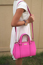 AUTHENTIC Kate Spade Small Loden bgnvillea Newbury Lane Pink Handbag Purse w TAG