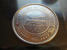 budweiser beer 1990 Mardi Gras Doubloon Coin rare new orleans