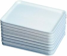School Specialty Printmaking & Collage Tray, 11 X 9 X 1 in, White, Pack of 250