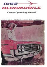 1962 Oldsmobile 98 88 Starfire Owners Manual User Guide Operator Book Fuses OEM