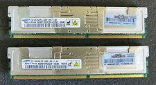 2 x 1GB (2GB) Samsung M395T2953CZ4-CE60 Memory ECC PC2-5300F-555-11-B0