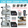 CNC 6040 3/4 Axis Router 2200W Mach3 USB Engraving Milling Machine Engravers