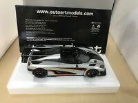 AUTOart 1/18 Koenigseg One: 1 Silver / Carbon Black / Orange B07GT6JFQV