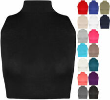 Plus Size Casual Solid Tank, Cami Tops & Blouses for Women