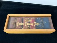 Official Casino Gaming Chips Las Vegas West, San Diego CA - Vintage Original Box