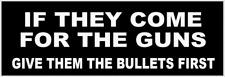 PRO GUN BUMPER STICKER DECAL TRUMP 2020 NRA REPUBLICAN 2ND AMENDMENT