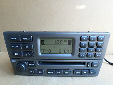 Jaguar X Type X-Type Radio Stereo CD Player 1X43 Genuine 1X43-18B876-CA +CODE