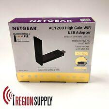 NEW Netgear A6210 AC1200 High Gain WiFi USB 3.0 Adapter 802.11ac Dual Band