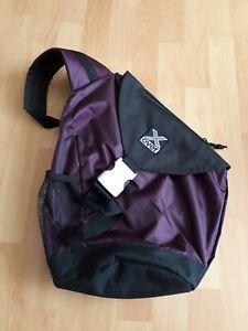 Rucksack X-Over, Farbe aubergine, mit neuem Regenschutz,  TOP!