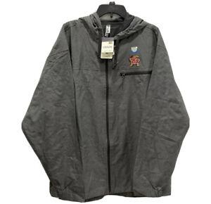 Ouray Sportswear Element Packable Jacket Rain Shell Size XL Full Zip Up Pockets