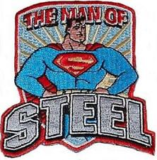 Superman The Man of Steel 1950's Standing Figure Embroidered Patch