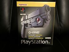 Boxed Genuine NAMCO G-CON 45 LIGHT GUN For PS1 VGC Sony Playstation 1