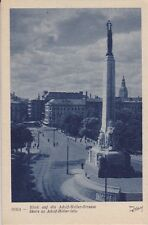 uralte AK, Riga, Blick auf die Adolf-Hitler-Strasse