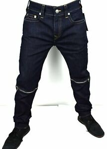True Religion Men's Rocco Convertible Relaxed Skinny Jeans - 100913 Size 32x34
