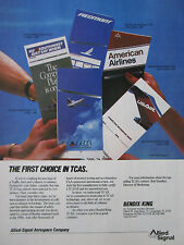 7/1989 PUB ALLIED SIGNAL BENDIX KING TCAS PIEDMONT SOUTHWEST AMERICAN USAIR AD