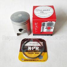 Piston 1971-77 TC125 # 12110-28004   S-97 Suzuki NOS RV125 TS125