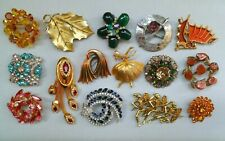 LOVELY SPARKLES ESTATE VINTAGE JEWELRY LOT BROOCH/PIN S.COVENTRY MIZPAH AVON