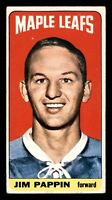 JIM PAPPIN RC 64-65 TOPPS TALLBOYS 1964-65 NO 64 VGEX+ 17568