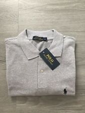 100% Mens Long Sleeve Ralph Lauren Polo Top Size XL Brand New With Tags