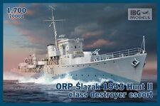 IBG 1/700 ORP slazak 1943 Hunt II CLASSE DESTROYER Escort # 70001