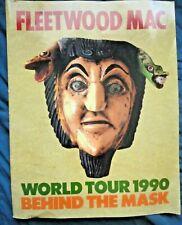 Fleetwood Mac 1990 Behind The Mask Tour Concert Program Book / Stevie Nicks
