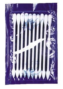 Cotton Swab Applicators Pack Of 10 Duel Tip Cosmetic Makeup Applicators