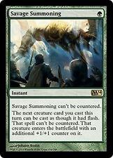 MTG Magic M14 - Savage Summoning/Invocation sauvage, English/VO