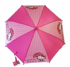 "Sanrio Hello Kitty 21"" Pink Umbrella w/Hello Kitty Handle"