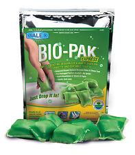 Bio-pak Express drop-in Sachets-Cassette de wc químicos (15 Sobres) Caravana