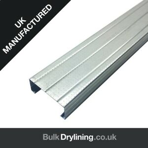 METAL C STUD SIZES 50mm/60mm/70mm/92mm/146mm STUD, MADE IN UK!!