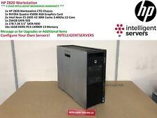 HP Z820 Workstation  2x E5-2695V2 2.40GHz  256GB  1TB HDD 256GB SSD Quadro K5000