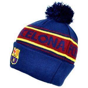 Barcelona Text Cuff Knitted Hat Futbol Club Barcelona Camp Nou Barça  Blaugran