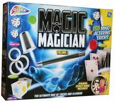 Children Magic Set 150 Tricks Kids Magician Illusions Trick Kit With Accessories
