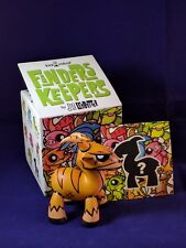 Kidrobot Joe Ledbetter JLED Finders Keepers Mystery Yellow Goat Vinyl Figure New