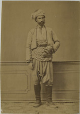 Sébah. Turquie, Homme turc  Vintage albumen print, Turkey  Tirage albuminé