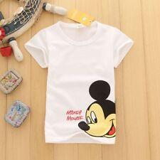 1PC Summer Children Kids Baby Boy Cotton Short Sleeve Clothes Girls T-Shirt Tops