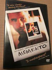 Memento DVD Guy Pearce Carrie-Anne Moss Joe Pantoliano