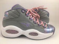 1cca73e2ea28 ALLEN IVERSON Question White Purple Pink Reebok Size 6.5 Men 8 Women