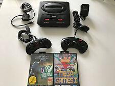 Sega Mega Drive 2 Konsole - 2 org. Controller + 4 Spiele