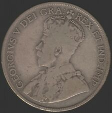1929 Canada George V Silver 50 Cents Coin | World Coins | Pennies2Pounds